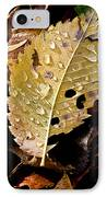 Leafy Tears IPhone Case