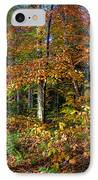 Leaving Cary Lake IPhone Case by David Patterson