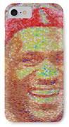 Lebron James Pez Candy Mosaic IPhone Case