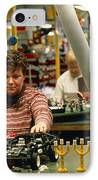 Lego Construction IPhone Case by Volker Steger
