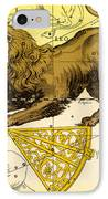 Leo, The Hevelius Firmamentum, 1690 IPhone Case by Science Source