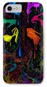 Les Couleur Des Chaussures Numero 1 IPhone Case by Kenal Louis