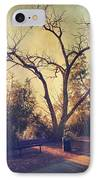 Let Us Sit Side By Side IPhone Case by Laurie Search