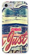 Let's Just Go IPhone Case by Mo T