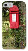 Letterbox In A Hedge IPhone Case