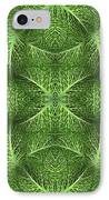 Lettuce Live Green  IPhone Case by Sue Duda
