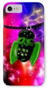 Lil Cthulhu Lovecraft Alien Cartoon Necklace Awake IPhone Case