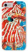 Lion Fish Face IPhone Case