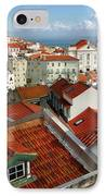 Lisbon Rooftops IPhone Case by Carlos Caetano