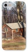 Little House In The Woods IPhone Case