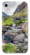 Llanberis Pass IPhone Case by Adrian Evans