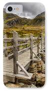 Llyn Idwal Bridge IPhone Case by Adrian Evans