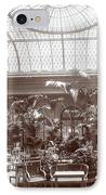 Lounge At The Plaza Hotel IPhone Case by Henry Janeway Hardenbergh
