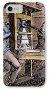 Lovejoys Printing Press IPhone Case