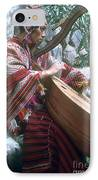 Lute Player IPhone Case by Photo Researchers, Inc.