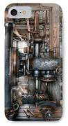 Machinist - My Really Cool Job IPhone Case by Mike Savad