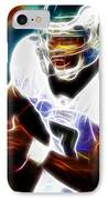 Magical Michael Vick IPhone Case by Paul Van Scott