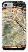 Magical Tree Stump IPhone Case by Mariola Bitner