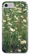 Manchester Daisies IPhone Case by Chris Jones