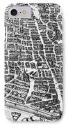 Map Of Paris IPhone Case by German School