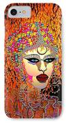 Mardi Gras IPhone Case by Natalie Holland