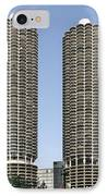 Marina City Chicago - Life In A Corn Cob IPhone Case