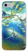 Marlin Frenzy IPhone Case