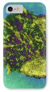 Measles Virus, Tem IPhone Case by Dr Linda Stannard, Uct