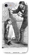 Measuring Children, 1876 IPhone Case by Granger