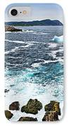 Melting Iceberg In Newfoundland IPhone Case by Elena Elisseeva