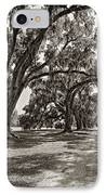 Memory Lane Monochrome IPhone Case by Steve Harrington