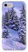 Merry Christmas And A Wonderful New Year IPhone Case
