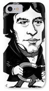 Michael Faraday, Caricature IPhone Case by Gary Brown