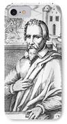 Michael Servetus, Spanish Physician IPhone Case by