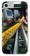 Mindstorm Programmable Lego Brick Manufacture IPhone Case by Volker Steger