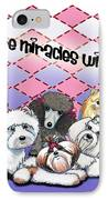 Miracles With Paws IPhone Case by Catia Cho