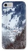 Moeciu Village In Winter IPhone Case by Gabriela Insuratelu