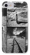Montage Of Wrecked Boats IPhone Case
