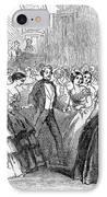 Mormon Ball, 1857 IPhone Case