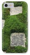 Moss And Stepping Stones IPhone Case
