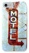 Motel 77 Sign IPhone Case