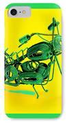 Motorbike 1b IPhone Case by Mauro Celotti