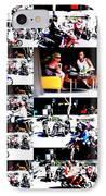 Motorbike Watching On Ubud Streets   IPhone Case by Funkpix Photo Hunter