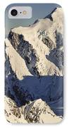 Mount Tutoko At Dawn Hollyford Valley IPhone Case by Colin Monteath