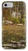 Mountain Cabin IPhone Case by John Greim
