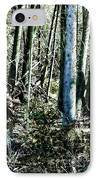 Mystery Forest IPhone Case by Olivier Le Queinec