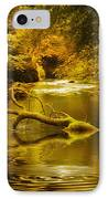 Mystery In Forest IPhone Case