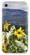 Nature Dance IPhone Case by Janie Johnson