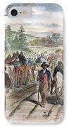 Nc: Freed Slaves, 1863 IPhone Case