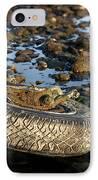 Need A Tire IPhone Case by Henrik Lehnerer